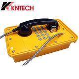 Telefono esterno Knsp-09 del telefono resistente all'intemperie del telefono della miniera in sotterraneo