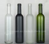 frascos de vidro do petróleo branco do frasco de vinho do vidro 500ml geado