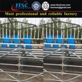 Canalisations verticales mobiles d'étape avec de l'acier pour l'assistance