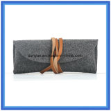 Simple Factory OEM Wool Felt Casual Handbag, Small Promotional Gift Packing Carry Bag