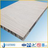 El panel de emparedado de aluminio del panal Panel/HPL del Formica blanco del color