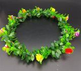 Венок заставки венчания оптового цветастого сада Bridesmaid напольный