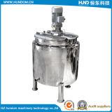Tanque de mistura líquido do aço inoxidável com o agitador para o produto químico e o alimento