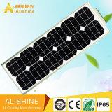 Todos en una fábrica ligera solar solar de la luz 30W LED Shen Zhen