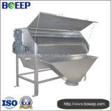 Filtre à tambour rotatoire automatique de séparation de solide-liquide à l'installation de traitement d'eaux d'égout