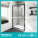 Алюминиевая раздвижная дверь ливня оси с Tempered прокатанным стеклом (SE939C)