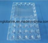 Устранимое пластичное яичко Cartons отверстия упаковщика 30 яичек цыпленка контейнера яичка упаковывая