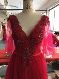Aoliweiya Großhandelsqualitäts-Abschlussball-Kleid mit v-Stutzen