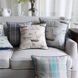 Amortiguadores al aire libre impresos lino de las almohadillas del algodón para la decoración