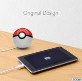 Nueva batería de la potencia de la bola de Pokemon del diseño para el iPhone con el certificado de RoHS