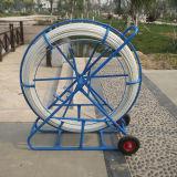 Conduit Rodder de fibre de verre du conduit Rodder/de fibre de verre de conduit avec des roues
