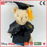 学生の卒業のギフトの柔らかいぬいぐるみのプラシ天くまのおもちゃ
