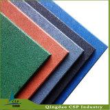 Couvre-tapis en caoutchouc d'étage de gymnastique favorable à l'environnement