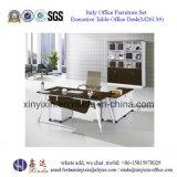 Самомоднейшая деревянная таблица офиса мебели с ногой металла (M2610#)
