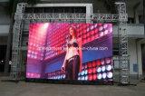 Tablilla de anuncios a todo color caliente de LED de la venta P6.25 para al aire libre/de interior