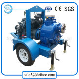 6 Inch Farm Irrigation Movable Self Priming Diesel Water Pump