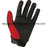 Красный Bike грязи Fox новой модели участвуя в гонке перчатки для всадника (MAG02)