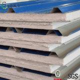 熱絶縁体の青いカラー壁のための鋼鉄EPSサンドイッチパネル