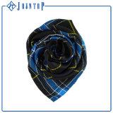 ハンドメイドの優雅な特大正方形のあや織りの絹のスカーフ90X90