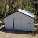 Garage prefabricado de la estructura de acero