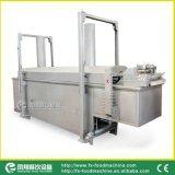 L'igname de chine automatique industrielle de banane de pomme de terre ébrèche la friteuse continue faisant frire la machine