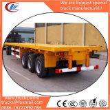 Hete Verkoop 3 Aanhangwagens van de Vrachtwagen van de Container van de As Flatbed 40FT