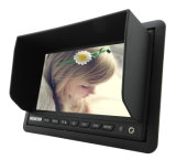 7 do carro polegadas de monitor do Rearview TFT LCD com Sunvisor