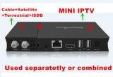 Núcleo Android do quadrilátero da caixa da tevê compatível com o afinador híbrido de DVB