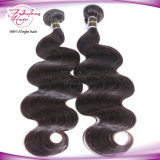 A maioria de cabelo barato do Indian do Virgin da onda popular do corpo do Weave do cabelo