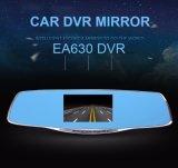 macchina fotografica blu dello specchio di Rearview di 1080P FHD con l'obiettivo doppio