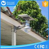 lámpara solar del jardín de 4W 8W 12W capaz de la rotación arbitraria del ángulo solar de la tarjeta