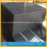 De natuurlijke Gevlamde & Opgepoetste Grijze Grijze Tegels van de Bevloering van het Graniet G654/Pandang