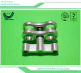 Präzision passte maschinell bearbeiteten/Maschinerie/maschinell bearbeitenteile Aluminium CNC an