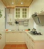 Fornecedor dos gabinetes de cozinha da madeira contínua