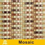 Het hete Mozaïek van de Mengeling van het Kristal van de Golf van de Verkoop voor Decoratie 8mm van de Muur de Reeks van de Golf (Golf S01/02/03/04/05)
