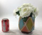 Bonsais artificiales de la decoración de las plantas de las flores coloridas