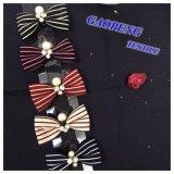 Cinta de algodón de colores para los pernos de pelo de Gpfj017