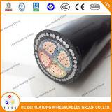 Câble d'alimentation d'armure de fil d'acier