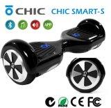 Le scooter intelligent de équilibrage électrique de 2016 roues neuves du modèle deux remet le tambour de chalut libre et personnel