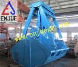 Benna idraulica elettrica della gru a benna della singola corda di fabbricazione per il materiale del carico all'ingrosso