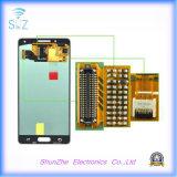 Samsung A5 A500 2015年のVesionの表示のための元の携帯電話のタッチ画面LCD