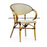 Cadeira de alumínio do café da câmara de ar do balcão exterior com Rattan (SP-OC368)