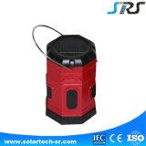 Lumière campante rechargeable solaire de vente chaude neuve d'usine de SRS