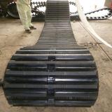 Esteira rolante de borracha da trilha 700*100*88 Trcked da maquinaria de construção