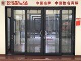 6063 6061 perfiles de calidad superior del aluminio de la puerta deslizante de la capa del polvo