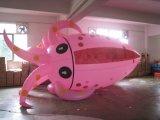 Animale marino del PVC del polipo della tartaruga dello squalo gonfiabile dei pesci che fa pubblicità all'aerostato dell'elio
