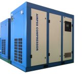 Compresor de aire de tornillo rotativo con 15 kw Tanques