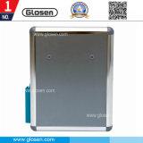 Kleiner quadratischer Aluminiumvorschlags-Kasten mit Pen-Holderund Anmerkungs-Kasten