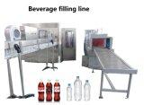 Line&#160をびん詰めにする炭酸CSDの飲料の清涼飲料を完了しなさい; プラスチックびんのため