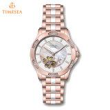 Vigilanza meccanica automatica del regalo del diamante dell'orologio del progettista speciale per Lady71169